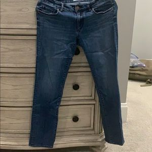 LOFT curvy straight leg jeans